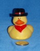 Cowboy Red Scarf Duck