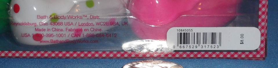 Bath and Body Works Extra Small Set Back