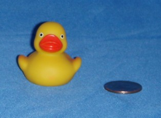 Rubber Duck Kit Yellow Duck Front