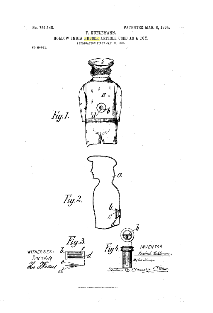 1904 Patent drawing